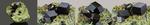 Andradite - Marki Khel, Spin Ghar range, Khogyani District, Nangarhar Province, Afghanistan. Campione di 40.47x41.81 mm con gruppo di cristalli di 24.84 mm. € 50,00