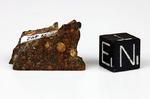 HAMMADAH AL HAMRA 180 - Recuperata nell'Aprile 1996, Libia, Africa. Chondrite Non Equilibrata tipo 3.5. Massa totale recuperata 936 grammi. Pezzo in collezione: Fine pezzo con 2 facce pulite gr.5.76 (McM492)